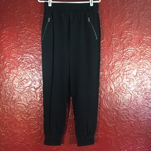 Marc by Marc Jacobs Silk Relaxed Pants Black