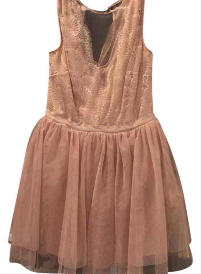 bebe Fit and Flare Party Short Cocktail Dress Size 10 (M) - Tradesy