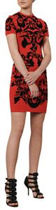 MCQ by Alexander McQueen short dress Red & Black on Tradesy