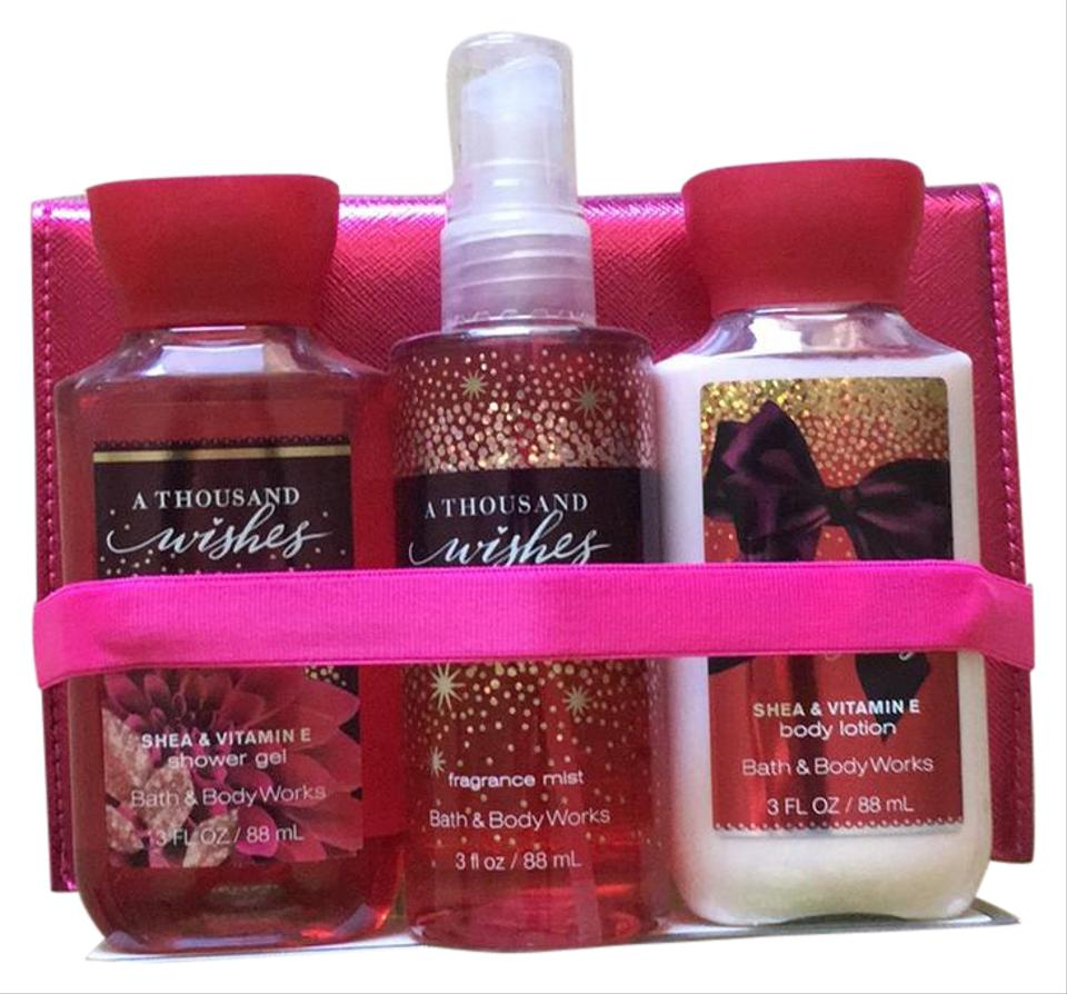 Bath And Body Works Variety Of Pinks A Thousand Wishes Kit Fragrance