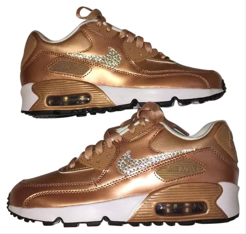 acheter en ligne 34f12 db825 Nike Rose Gold Air Max 90 Se 859633 900 Sneakers Size US 7 Regular (M, B)  44% off retail