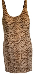 Diane von Furstenberg Mini Cheetah Dvf Animal Print Dress