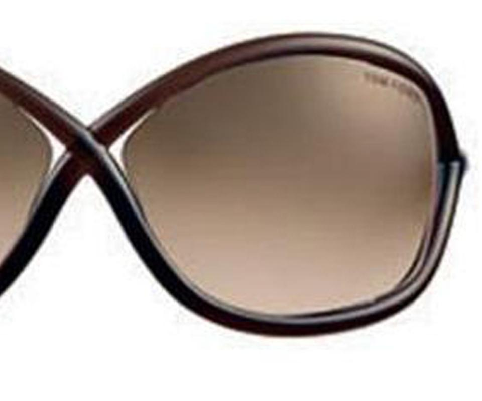 144aeab366ab5 Tom Ford Tom Ford FT0009 Whitney 692 Dark Brown Transparent  Rose Gold  Metal Image 5. 123456