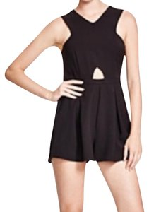 f40cb99b201 MINKPINK Romper Cut-out V-neck Short Sleeveless Dress