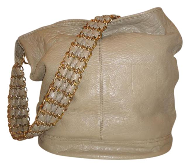 Item - New Taupe Leather Hobo Bag