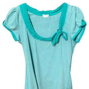 Maurices Top Green and white