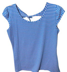 Maurices Top Blue & pink