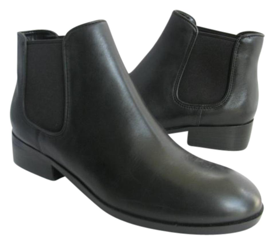 7cd0c29716aaf Cole Haan Black New Ferry Leather Ankle Womens Chukka Boots/Booties ...
