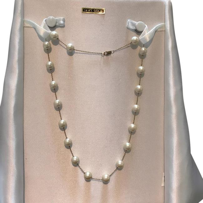 Item - Pearl And 14k Necklace
