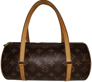 Louis Vuitton Monogram Papillon Tootsie Roll Shoulder Bag