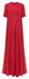Lanvin Maxi Drapey Chic Special Occassion Dress