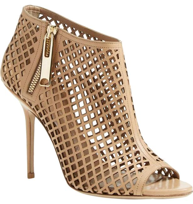 Burberry Camel Barmby Cuout Open Toe 39.5/ Boots/Booties Size US 9.5 Regular (M, B) Burberry Camel Barmby Cuout Open Toe 39.5/ Boots/Booties Size US 9.5 Regular (M, B) Image 1