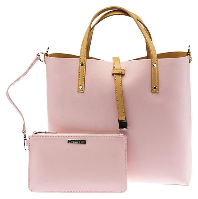 Item - Reversible (35429) Pink Leather Tote