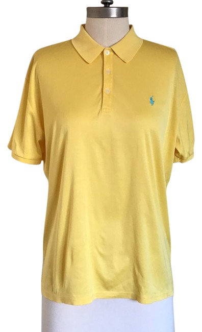 Item - Yellow Golf Polo Button-down Top Size 10 (M)