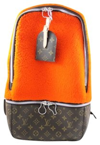 Louis Vuitton Fleece Celebrating Monogram Stock041960 Backpack