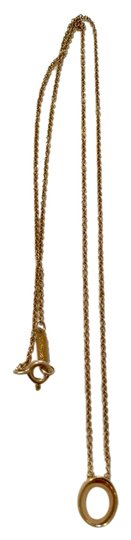 Preload https://img-static.tradesy.com/item/21665530/tiffany-and-co-rare-co-frank-gehry-morph-oval-18k-gold-16-necklace-0-1-540-540.jpg