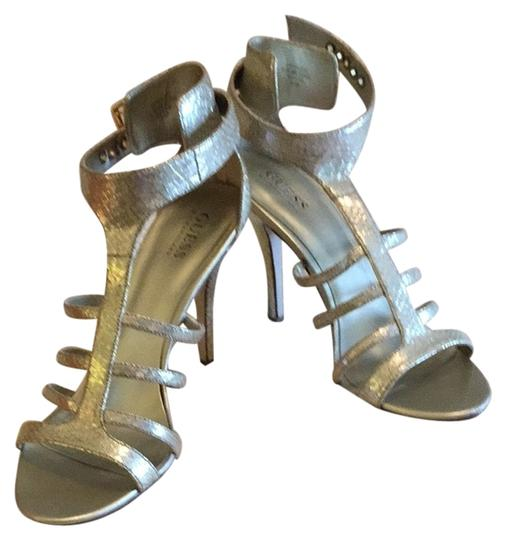 Guess By Marciano Gold Synthetic Reptile Formal