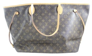 Louis Vuitton Neverfull Gm Tote in Brown