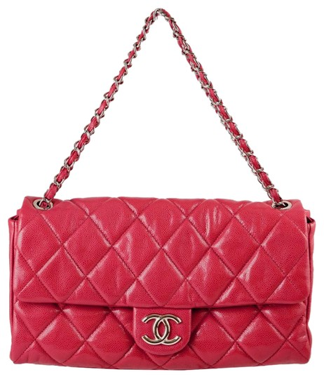 Preload https://img-static.tradesy.com/item/21666428/chanel-maxi-jumbo-quilted-silver-hardware-skin-pink-soft-caviar-leather-shoulder-bag-0-1-540-540.jpg