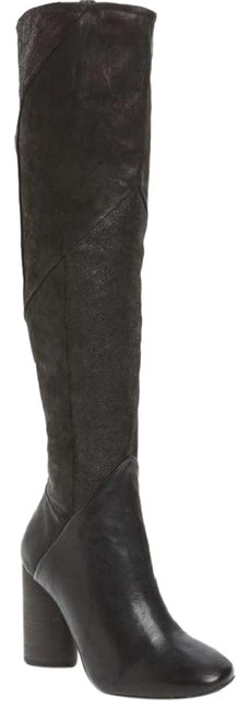 Free People Black Bright Lights Over The Knee Boots/Booties Size EU 39 (Approx. US 9) Regular (M, B) Free People Black Bright Lights Over The Knee Boots/Booties Size EU 39 (Approx. US 9) Regular (M, B) Image 1
