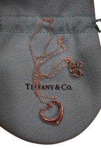 Tiffany & Co. Tiffany & Co. ELSA PERETTI Open Heart Sterling Silver Pendant 16mm
