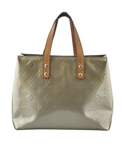 Louis Vuitton Patent Leather Tote in Green