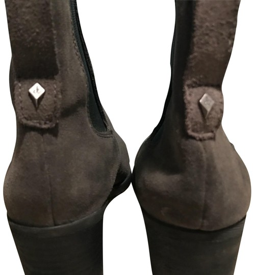 0c9d83a59 Sam Edelman Grey Boots Booties Size US 7 Regular (M