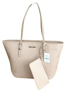 Nine West Tote In Mix Between Pink And Tan Taupe