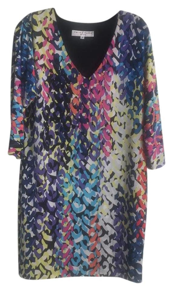 d5728b8db21 Trina Turk Multicolor Shift Short Casual Dress Size 4 (S) - Tradesy
