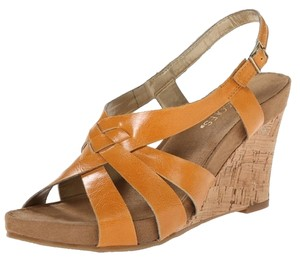 Aerosoles Wedge High Heel Platform orange Sandals
