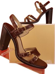 Michael Kors brown / rich brandy Sandals