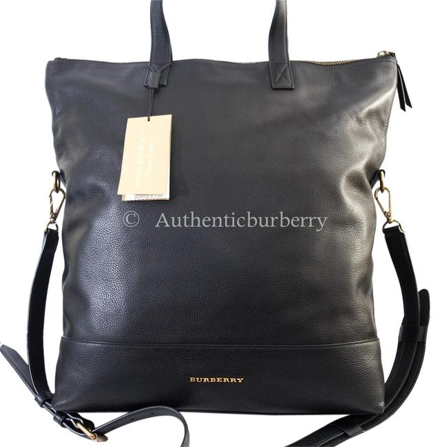 Item - Casual Lux Pebble Armley Folding Black Leather Messenger Bag