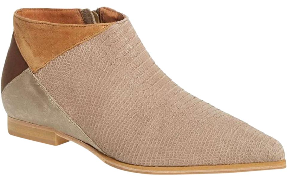 Free People Desert Multi Color Tan/Brown Desert People Rider Ankle Boots/Booties e5de30