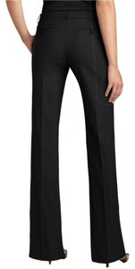 Theory Sharp Professional Hot Sexy Classic Flare Pants Black