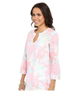 Lilly Pulitzer Amelia Island Floral Tunic