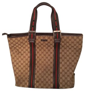 d0c8cd7f130b Gucci Tote in brown / interlocking G print