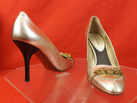 Roberto Cavalli gold Pumps