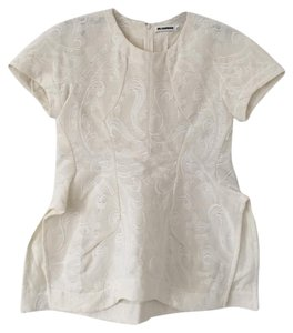Jil Sander Top white