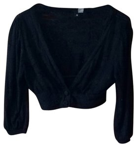 H&M Bottons Cropped Cardigan