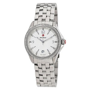 Michele FLASH-SALE Belmore Diamond, Diamond Dial Watch