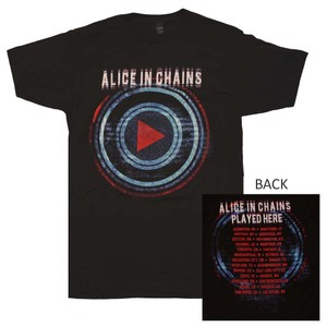 d44969aa Alice in Chains The Treasured Hippie Music Boho Band Merchandise T Shirt  Black