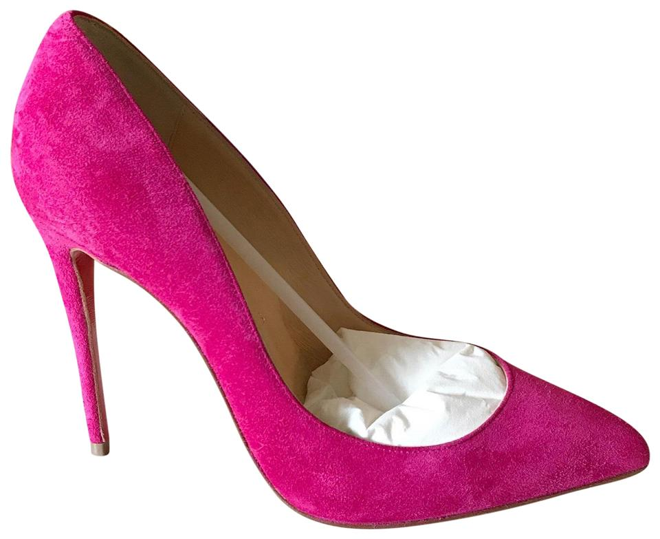 9594ee6ab73 Christian Louboutin Rosa Pink Rose Pigalle Follies 36 Suede 100mm Pumps  Size US 6 Regular (M, B) 20% off retail
