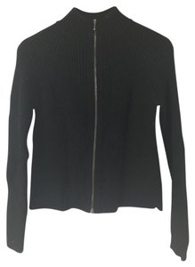 Margaret O'Leary Metal Hardware Rib Black Jacket