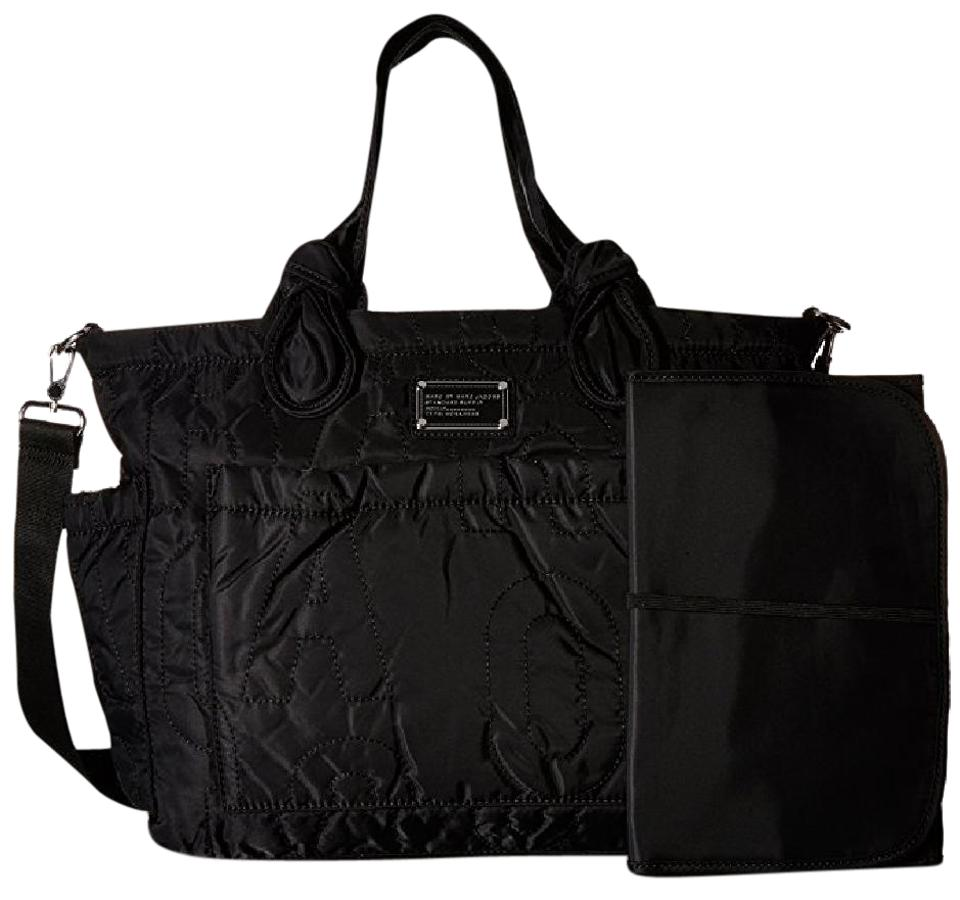 Marc By Jacobs Lightweight Nylon Travel Mommy Black Diaper Bag