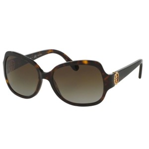 b94347addcfd Tory Burch Tory Burch TY7059 1378T5 57 mm Dark Tortoise Brown Gradient  Polarized