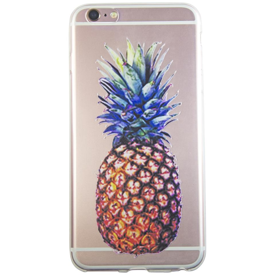 uk availability bc983 26e99 Exotic Iphone 7 Plus Silicone Transparent Soft Bumper Case Pineapple Tech  Accessory 45% off retail