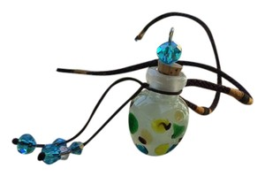 Artisan jewelry handcrafted fragrance bottle or Essential oils also used for other purposes
