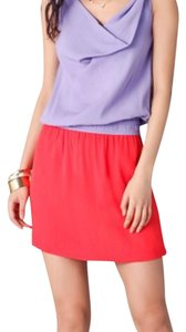 Diane von Furstenberg short dress Lavender & Red on Tradesy