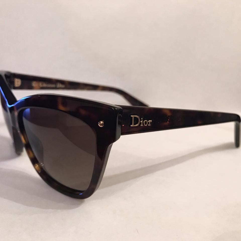 94a3124af7068 Dior 0086 Dark Havana (Ha Brown Gradient Lens) New Christian Jupon ...