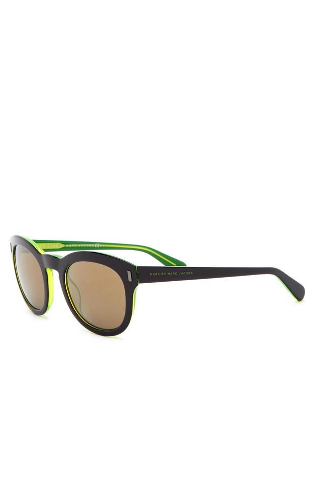 1a2e8ca53cb53 Marc by Marc Jacobs Marc by Marc Jacobs Women s Retro Round Acetate Frame  Sunglasses Image 0 ...
